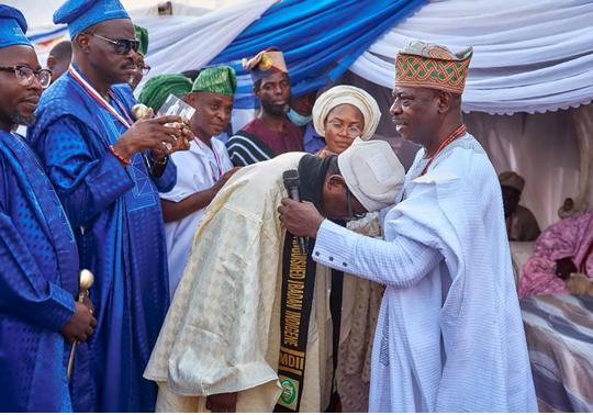 Ibadan dreams bigger, honours Salami, other prominent indigenes